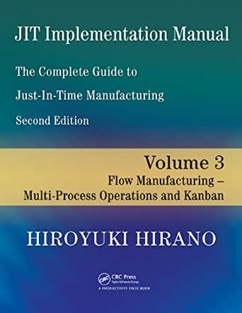 JIT Implementation Manual -- The Complete Guide to Just-In-Time