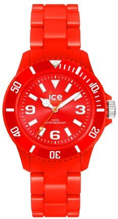 GENUINE ICE Watch Watch Solid Unisex Only Time Red - sd.rd.u.p.12