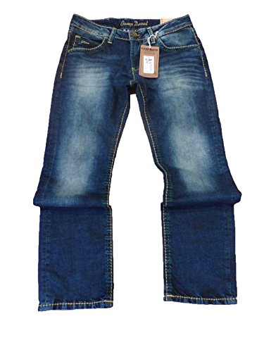CAMP DAVID JEANS R611 NICO BOOTCUT LOW WAST REGULAR FIT Blue Used