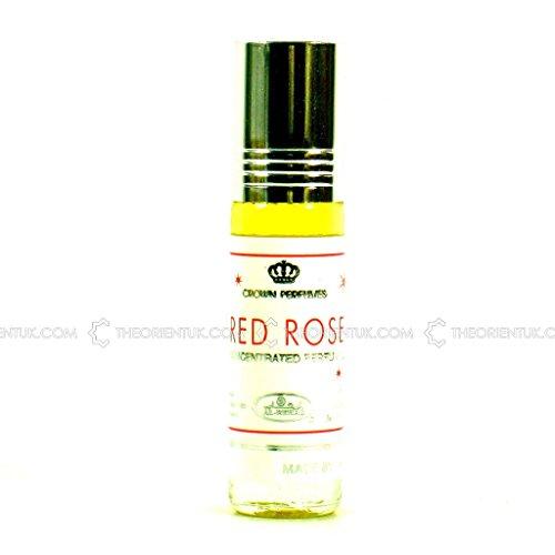 Red Rose Perfume Oil - 6ml by Al Rehab
