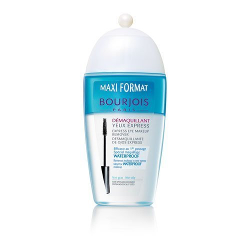 Bourjois Express Eye Make-Up Remover - Non oily, Removes Waterproof Make-Up / Maxi Format 250 ml