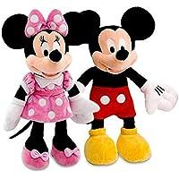 GAJUS Kid's Fav Mickey Minnie Mouse Stuffed Soft Toys-Medium