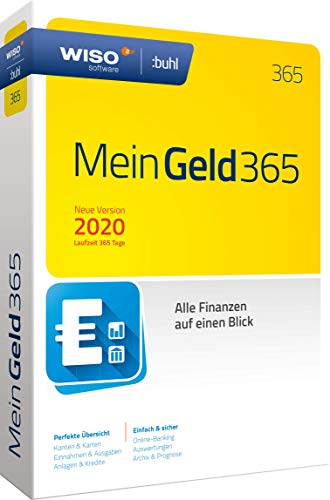 WISO Mein Geld 365 (aktuelle Version 2020) (WISO Software) | Disc in Standardverpackung