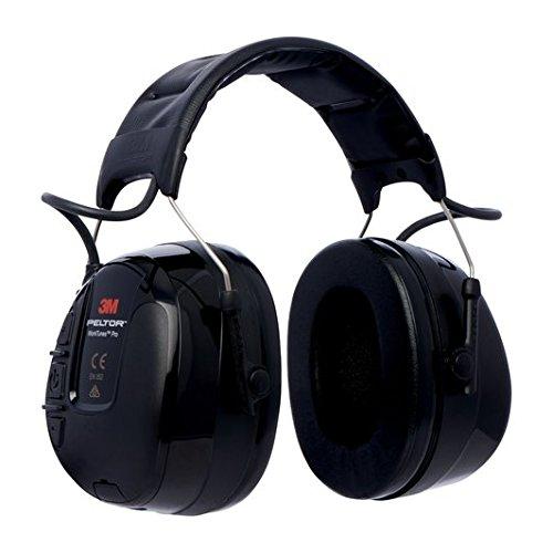 3M Peltor WorkTunes Pro FM Radio Gehörschutz, 32dB / Zuverlässiger Ohrenschutz mit integriertem Radio / Ideal für Forst-, oder Landarbeit & lärmintensive Freizeitaktivitäten