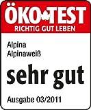 Alpina Wandfarbe 867175 Alpinaweiß matt 14 Liter