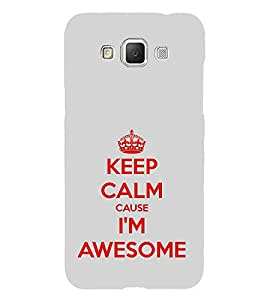 ifasho Designer Phone Back Case Cover Samsung Galaxy Grand Max G720 ( Keep Calm I Am Chartered Accountant CA )