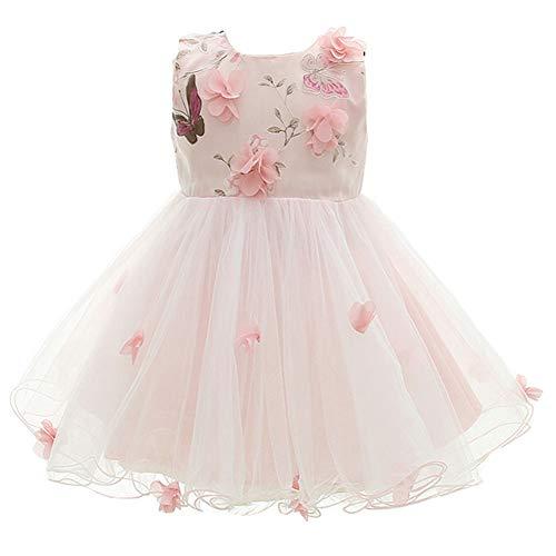 Prinzessin Kleid Schmetterling Hochzeit Partykleid Festzug Babybekleidung ()