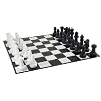 Garden Games Giant Chess Set Pieces - King Measures 64cm Tall Base is 23cm in Diameter