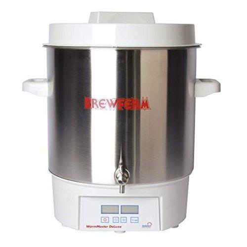Elektrischer Braukessel PRO - digitales, programierbares Thermostat - 27 L mit Auslauf