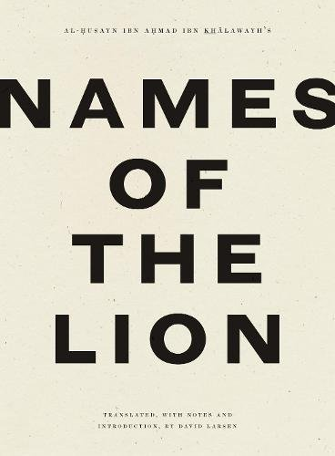 Names of the Lion