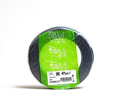 Cable FLEXIBLE H07V-K 1 x 1,5 mm² 25 m (Gris)