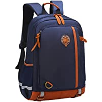 aa3fe865a6a Primary School Bag Backpack for Boys Girls 5-12 Years Old, Uniuooi  Waterproof Nylon