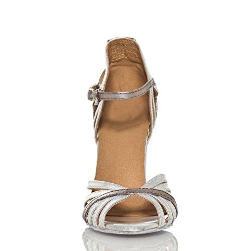 Miyoopark - Ballroom donna Silver-10cm heel