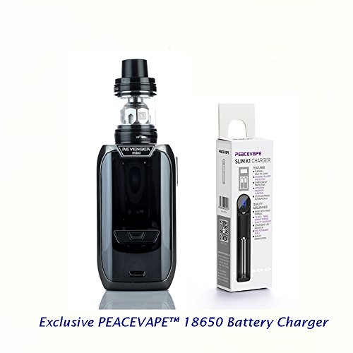 Vaporesso-Revenger-Mini-85W-TC-Kit-de-inicio-2500-mAh-con-2-mL-de-tanque-NRG-MINI-Negro-con-Cargador-USB-cargador-de-18650-batera-PEACEVAPE-Sin-Tabaco-y-Sin-Nicotina
