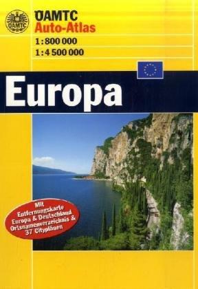 Preisvergleich Produktbild ÖAMTC Auto-Atlas Europa: 1:75000, 1:4000000