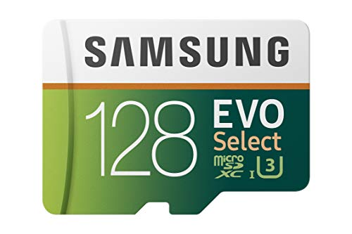 Samsung EVO Select MB-ME128GA/AM 128GB MicroSDXC Memory Card with Adapter