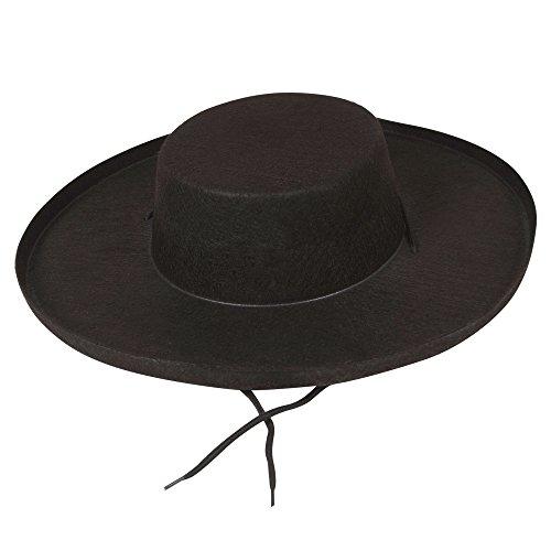 t - Adult Fancy Dress Accessory (Adult Zorro Hut)