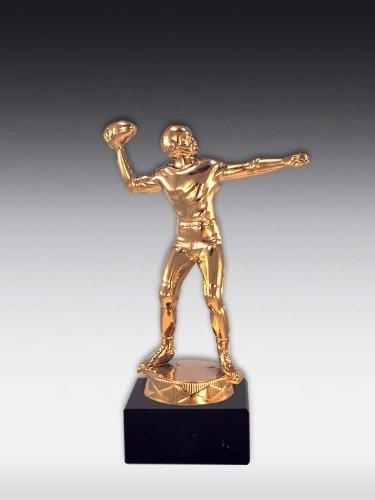 Figur American Football Glanz-Gold, ink. Wunschgravur