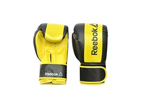 Reebok Boxing, Guanti Unisex-Adulto, Yellow, M