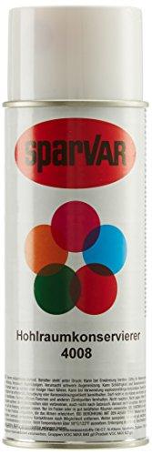SparVar 6040080 Ralley Hohlraumkonservierer, 400 ml, für Autos, Mofas, Motorräder, Go-Carts