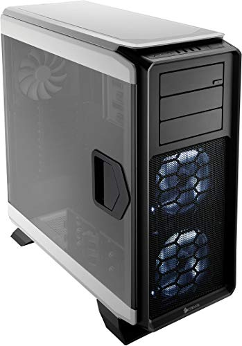 Corsair Graphite Series 760T V2 PC-Gehäuse (Seitenfenster Full Tower ATX) weiß - Panel-interne Tür