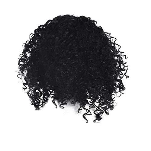 Anney Damen Perücken Perücke Frauen Damen Haar Wigs lockig Lang rötlich Braun für Karneval Fasching Cosplay Party Kostüm