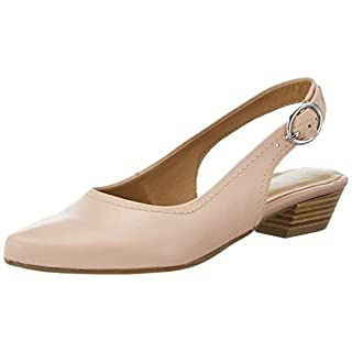 Tamaris Damen 29400 Slingback, Pink (Rose Leather 531), 39 EU