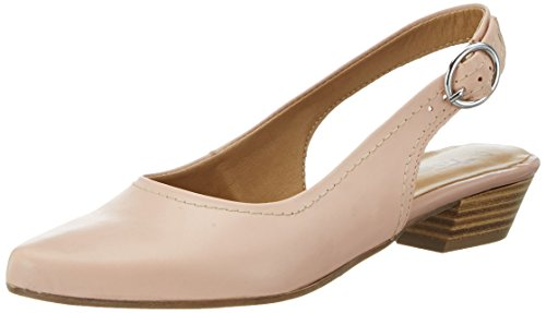 Tamaris 29400, Sandali con Zeppa Donna, Rosa (Rose Leather 531), 38 EU
