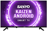 Sanyo 80 cm (32 inches) Kaizen Series HD Ready Smart Certified Android IPS LED TV XT-32A170H (Black) (2019 Mod