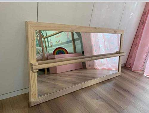 Specchio Montessori in legno naturale