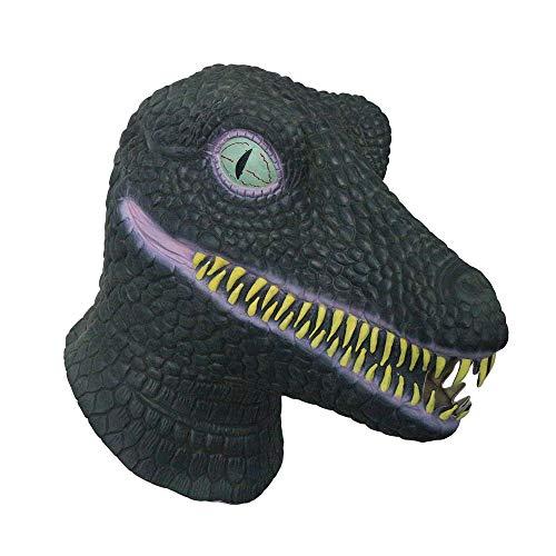 Dinosaurier Maske. Vollkopf Latex Maske. Vervollkommnen Sie für Partys, Abendkleid, Halloween-Ereignisse und Film Kostüm Party …