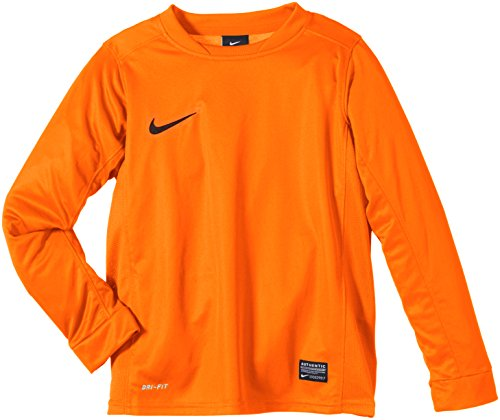 NIKE Jungen T-Shirt Langarm Park V Game, Team Orange, L, 448256-815 (Black Boys Langarm-shirt)