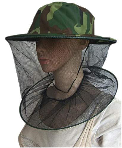 PPX Imker Maske Gap Hat, 2 Pack Camouflage Bienenzucht Maske Gap Hat perfekt für den Anfänger Imker Outdoor Wandern Camping, Klettern, Angeln, Radfahren -