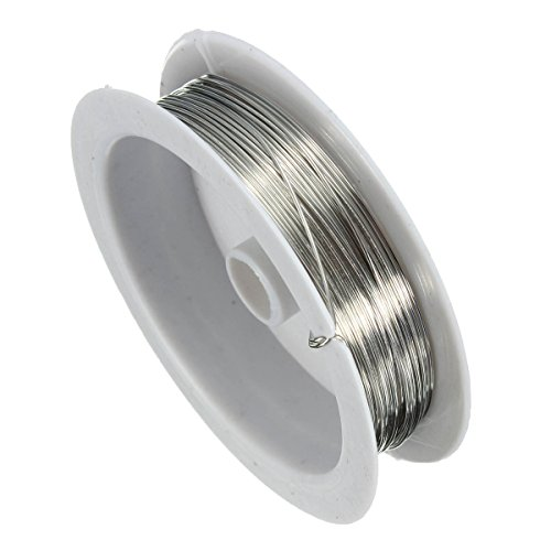 Udhayam Copper Beading Wire For Jewelry Making (Silver)