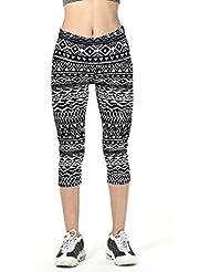 Pantalones mujer deporte Sannysis YOGA Pantalones, Legging Mallas para mujer (02, XL)