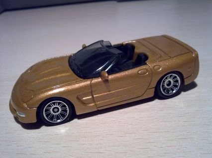 Matchbox MBX Metal M7386 ´00 Chevrolet Corvette Convertible Ready for Action #25 Modellauto Fertigmodell