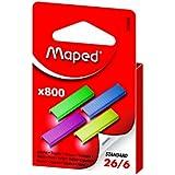 Maped 800 Coloured Staples (Single Box) 324806