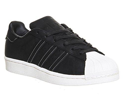 adidas Superstar Supercolo, Sportschuhe, Unisex–Erwachsene Schwarz (Core Black/Off White)