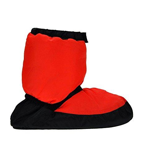 Riscaldarsi Childs Danse De Fluorescente Arancione Danza Bloch Chaussures wC1Y4qxg