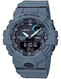 Casio Mens Analogue-Digital Quartz Watch with Plastic Strap GBA-800UC-2AER,Grey