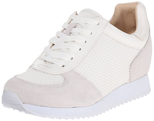 Nine West Telly Suede Fashion Sneaker White/Multi
