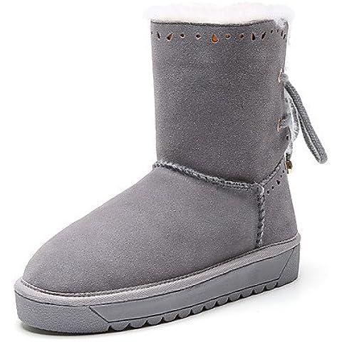 Donna stivali Primavera / Autunno / Inverno Comfort Vacchetta Esterni