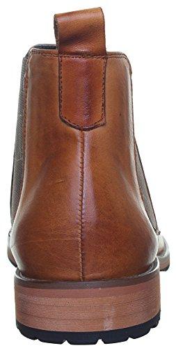 Reece Justin Bruno mat Chaussures en cuir pour homme Semelle en caoutchouc résistant Marron - Camel EK12
