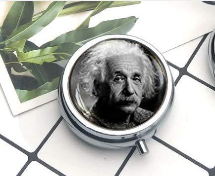 Albert Einstein Science Geek Geschenk Physik Math Teacher The Pillendose