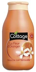 Cottage - Douche Lait Sensuelle - La Fleur d'Oranger - 250 ml - Lot de 3