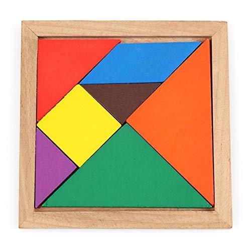 Tangram de madera Kaimus por sólo 2€ con el #código: VD4GH675