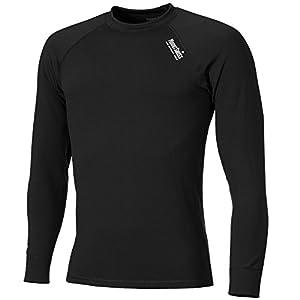 Mount Swiss Herren Thermounterwäsche Funktions-Shirt Davos, Langarm/Öko-Tex Standard 100 / Hergestellt in der EU