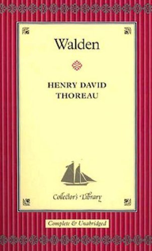 Walden (Collector's Library) by Henry David Thoreau (2004-02-04)