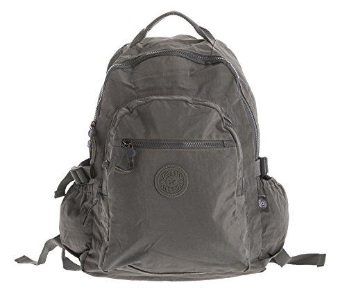 Imagen de big handbag shop  bolso  de tela para mujer gris backpack style 1  dark grey