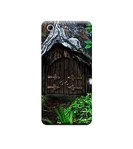 Ebby Premium 3d Desinger Printed Back Case Cover For HTC 728 (Premium Desinger Case)